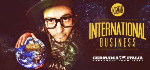 KG man Cover International Business